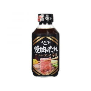 Ebara Japanese BBQ Source Yakiniku Karakuchi Sauce Hot 254ML